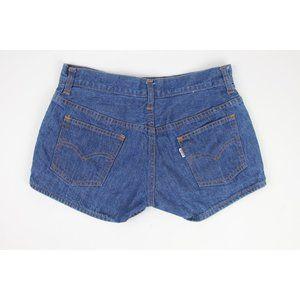 VTG 70s 80s LEVIS FOR GALS Denim Booty Shorts Boho